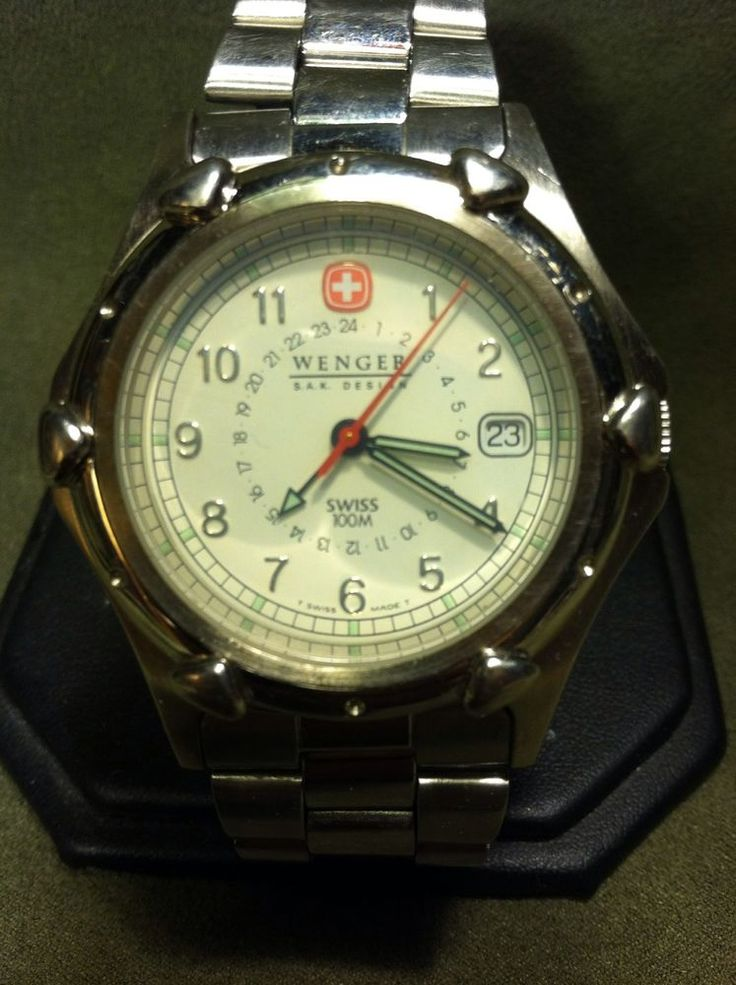 SPECIAL EDITION Wenger Swiss Army Standard Issue XL Mens  4 Hand SAK Design  #WengerSwissArmy #LuxurySportStyles  22 hours left to get this watch!Check it out now!