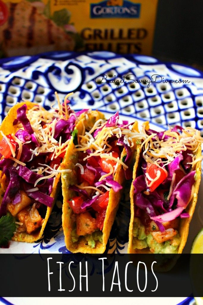 The BEST Fish Taco Recipe. Easy to make and gluten - free #glutenfree #fishtaco #recipes #budgetsavvydiva budgetsavvydiva.com