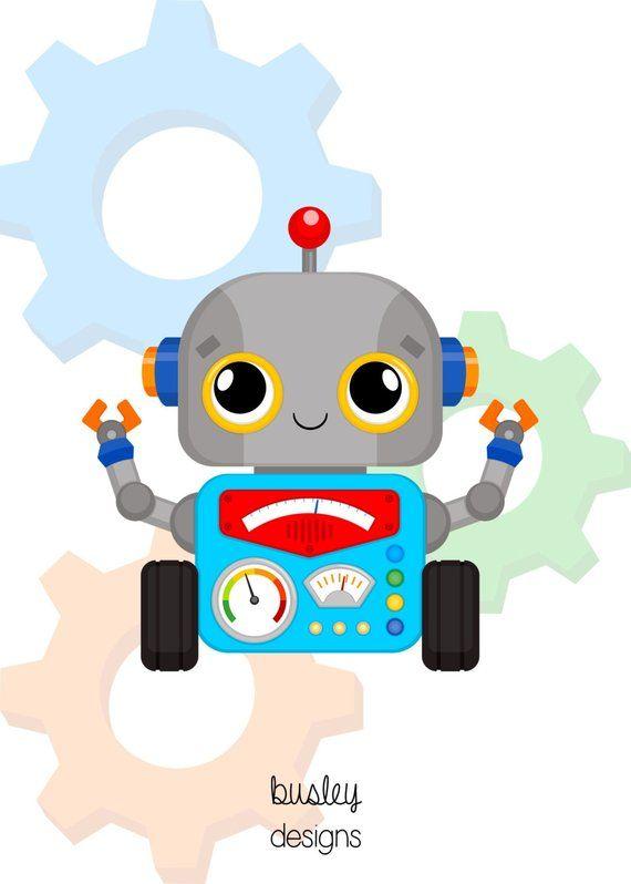 Robot invitation, Robot party decoration, Robot party, Robot invitation, Robot birthday, Robot birthday * Printing or Digital