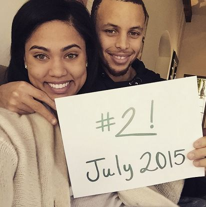 NBA Star Stephen Curry Reveals He's Expecting His Second Child