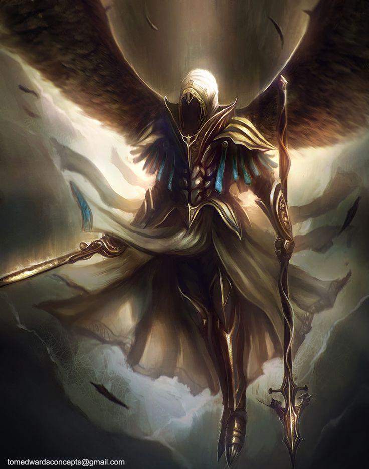 Archangel by TomEdwardsConcepts.deviantart.com on @deviantART