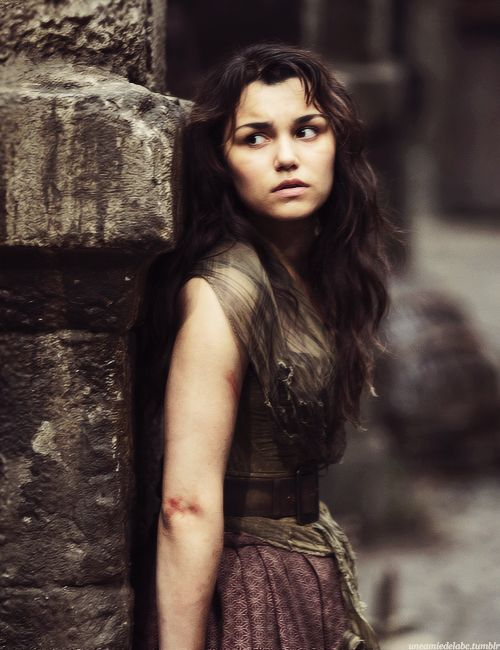 Eponine in Les Mis played by Samantha Banks. She is my favorite character and the reason that On My Own is my favorite song.