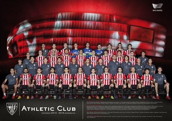 Disponible el nuevo póster oficial del Athletic Club 2014-2015 a partir del lunes 3 de noviembre en las oficinas de Kutxabank en exclusiva para clientes.