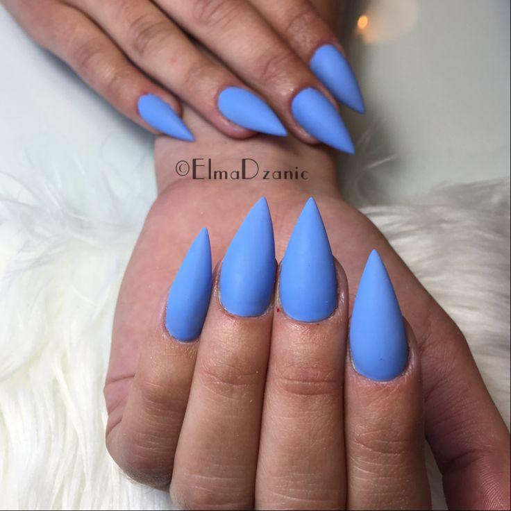 best 25 blue stiletto nails ideas on pinterest nails