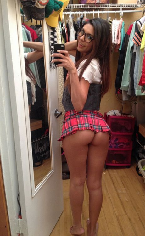 Prep school girl outfit-2506