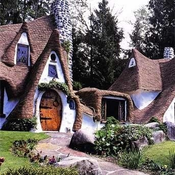 LOVE....fairytale cottage.