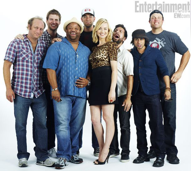 #Chuck cast at EW Comic Con Photo Booth