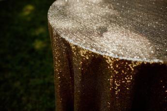 Sequin Tablecloth Rental | Wedding Rentals | Wedding Decor | Sequin Linens