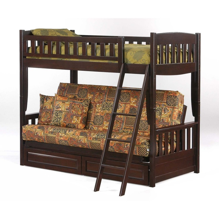 cinnamon twin over futon bunk bed   futon bunk beds at simply bunk beds 19 best bunk beds images on pinterest   bunk beds futon bunk bed      rh   pinterest
