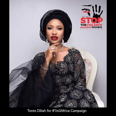 "#1in3African: Enough is enough!!! We are Saying 'NO' to domestic violence - Tonto Dikeh react to the #stoptheviolenceagainstwoman campaign     Tonto Dikeh who walked for a good cause in Lagos on Friday 30th angrily reacted following the campaign to put a stop to domestic violence in the country. If you noticed Tontolet isn't smiling at all in most photos taken today. A photo she shared on social media with the caption: ""Walked for a worthy CAUSE.. Enough is enough!!! We are Saying NO TO…"