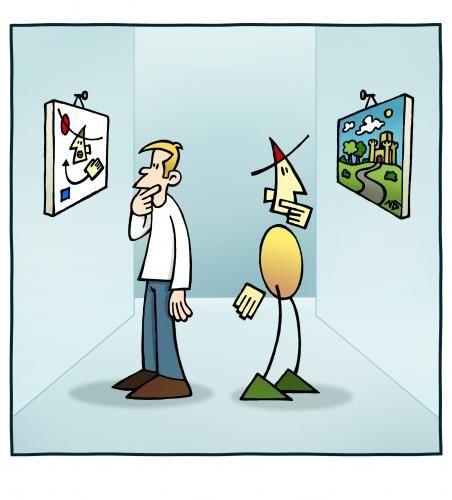 Cartoon: Kunst