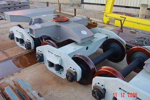 Montaje Boggies boilermaking, steel tanks, steel structures