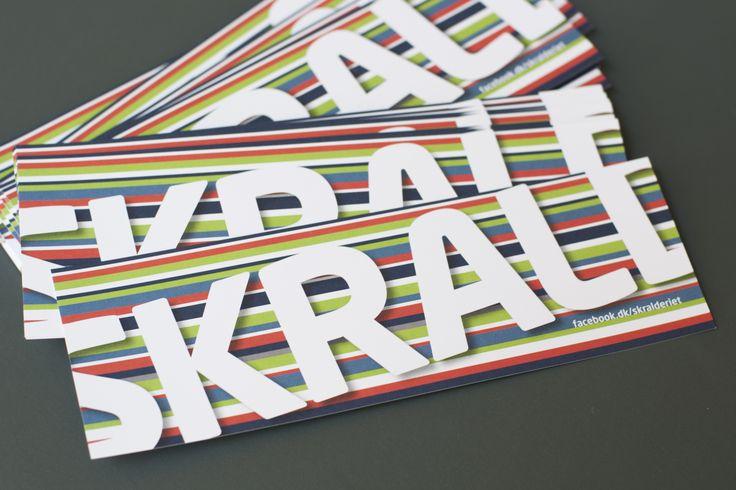 Flyer wurden produziert, um in Bibliotheken, Schulen und anderen relevanten Institutionen auf die Kampagne aufmerksam zu machen.