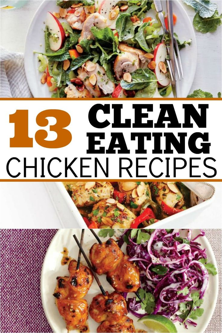 I love clean eating recipes. Fresh ingredients and fruits and veggies straight from the farmer really make me happy! I also like chicken so these recipes are a win in my book!
