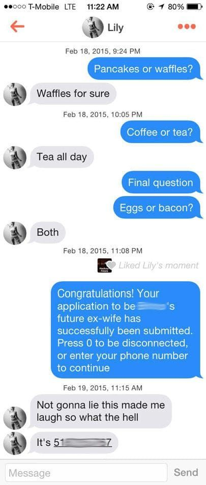 Funny pick up line online dating