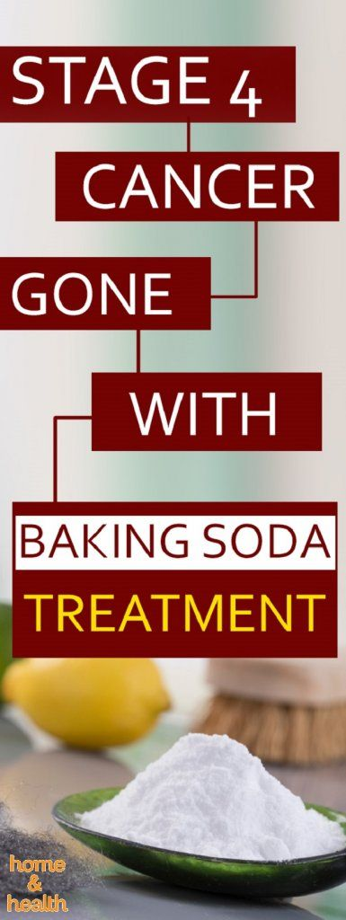 "It's a remarkable story about a man who successfully ""destroyed"" stage IV cancer with just using one simple ingredient– baking soda."