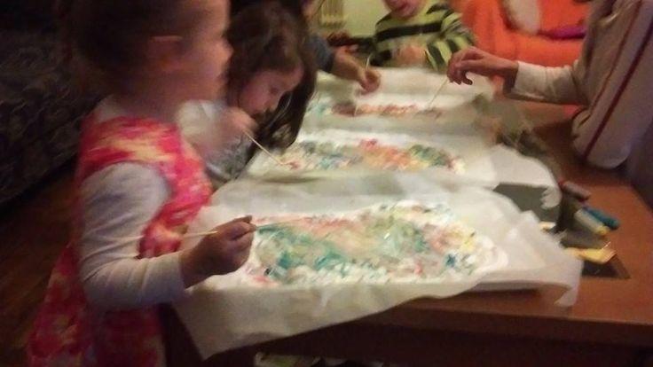 μας αρέσει που ζωγραφίζουμε...