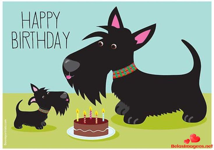 С днем рождения открытка шнауцер