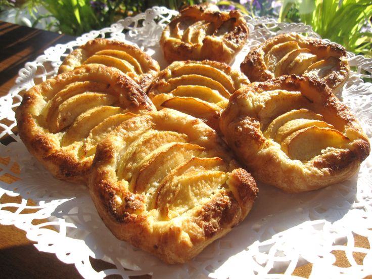 Apple Almond Puff Pastries | The Flaky Tart | Pinterest | Puff ...
