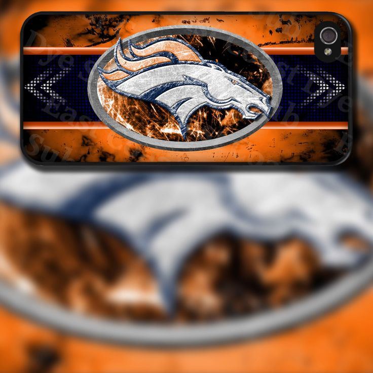 Denver Broncos Horse Design on iPhone 4 / 4s / 5 / 5s / 5c / 6 Rubber Silicone Case by EastCoastDyeSub on Etsy https://www.etsy.com/listing/152557395/denver-broncos-horse-design-on-iphone-4