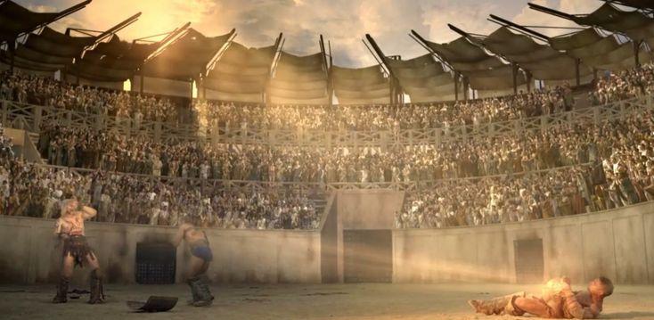 gladiator gevecht