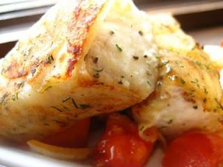 Potato wrapped Cod | FOOD ~ I'll have what she's having! | Pinterest