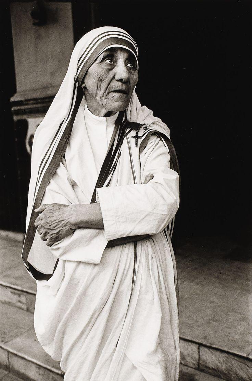 lauramcphee: Mother Teresa, Calcutta, 1980 (Mary...