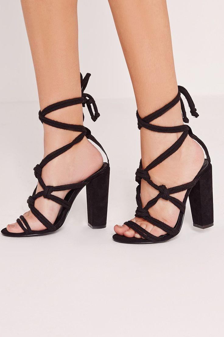 Lodičky Sandály na podpatku  - Missguided - Sandály