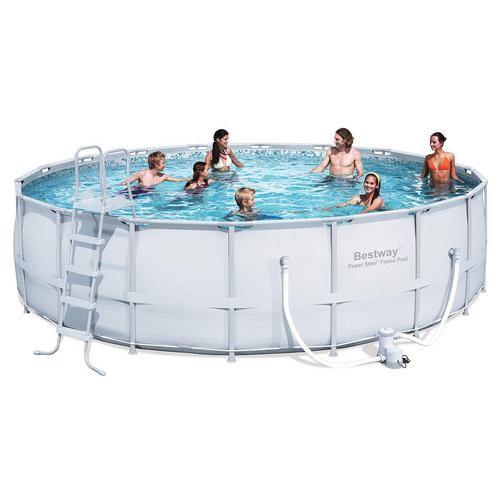Piscina Estruturada Bestway Frame Pool - Americanas.com 26.000 l $4.800,00