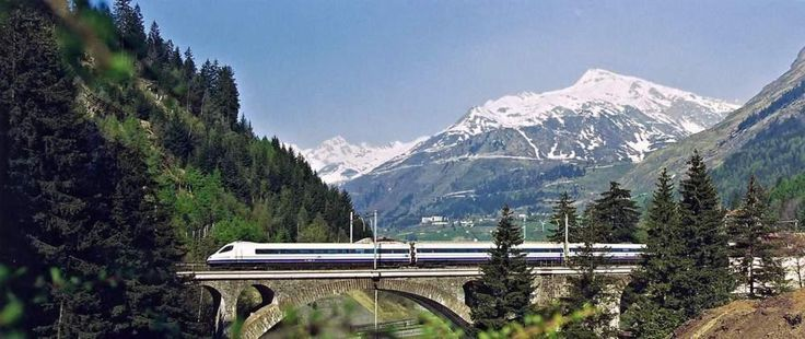 Take high-speed trains to travel through Europe and cover large distances quickly with a Eurail Pass!