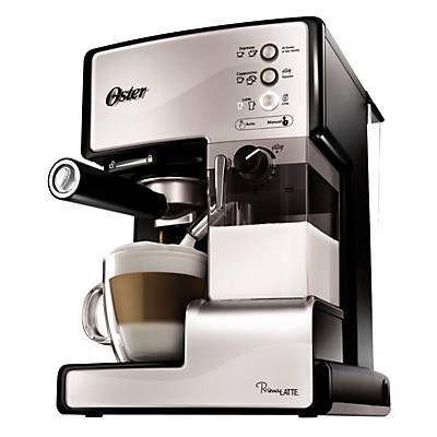 Oster Cafetera Express Primalatte Silver. ¡Lo quiero!