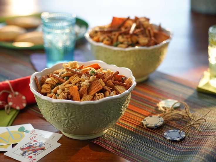 Everything Snack Mix recipe from Valerie Bertinelli via Food Network
