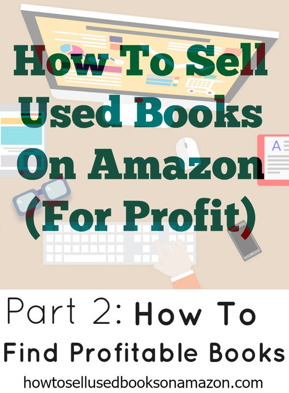 Part 2 - How To Find Profitable Books How to find used books at thrift store and sell them online for profit!  Learn how to sell books on both eBay and Amazon.