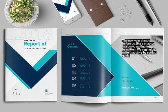Report Brochure  @creativework247