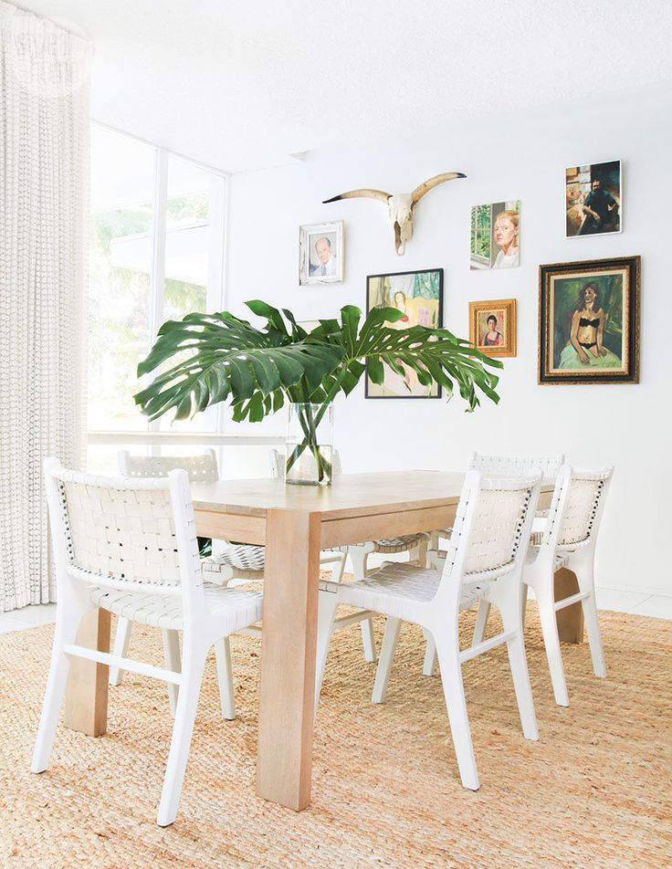 Carefree And Quirky Palm Springs Style Oasis Dining Room DesignDining