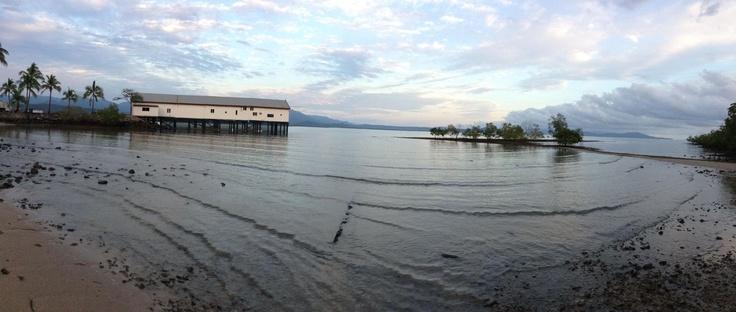 2012 December 30 - Good morning world!     27.5 degrees + Port Douglas = paradise...
