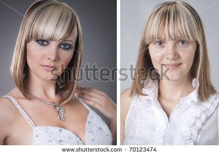 Male To Female Makeover Before And After Before and after makeover