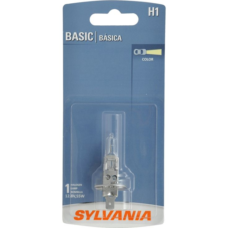 The SYLVANIA Basic Halogen Headlight is designed to meet DOT regulations for performance and life. This bulb is legal for on road use and provides easy installation as a direct replacement bulb. SYLVANIA lamps are made from high quality material for long lasting durability.