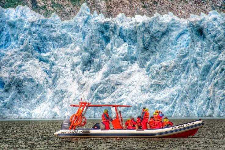 HDR Travel Pictures: Los hielos de San Rafael