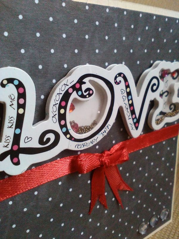 Carte Love shakerbox