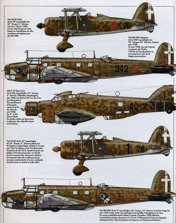 S 79 dell' 8° stormo 27° gruppo - 20^ squadriglia giugno 1940 Villacidro (CA) - terzo profilo dall'alto -