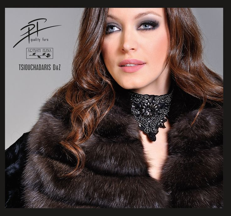 Russian Sable Tortora fur jacket.