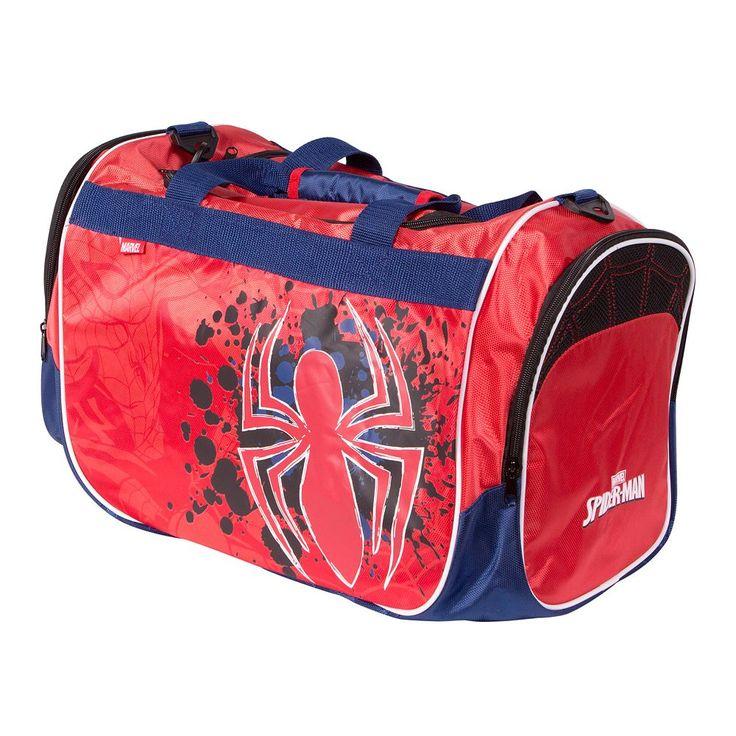 Marvel Spider-Man Sports Duffel Bag, Red