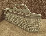 WD28x10177 WD28X10048 GE Dishwasher Beige Silverware Basket Assembly