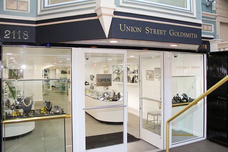 Union Street Goldsmith in San Francisco.  Making custom jewelry for over 40 yrs.