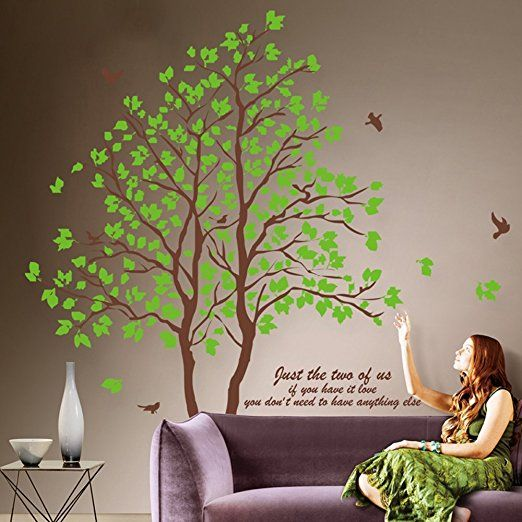 25 best ingresso images on pinterest | wall sticker, branches and ... - Stickers Murali Camera Da Letto