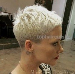 Very short pixie haircut…. Very short pixie haircut. http://www.tophaircuts.us/2017/05/04/very-short-pixie-haircut/