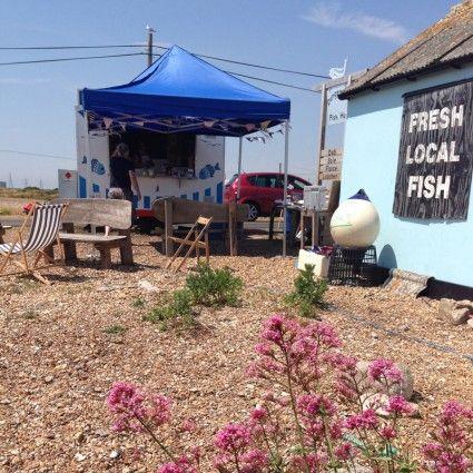 Dungeness Fish hut.