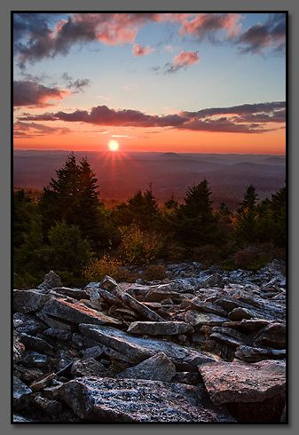 Spruce Knob...Almost Heaven West Virginia! By far one of my favorite stops on my WV tour :)