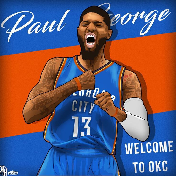 """222 Likes, 7 Comments - Sports Edits/ Designs (@cledits7) on Instagram: """"The #Thunder acquire Paul George in a trade sending Victor Oladipo and Domantas Sabonis to the…"""""""